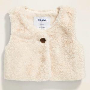 Faux Fur Vest for Baby